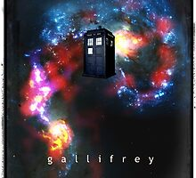 T.A.R.D.I.S. in space - Gallifrey by fantasytripp