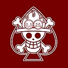 【2700+ views】ONE PIECE: Jolly Roger of Ace by Ruo7in