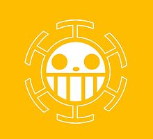 【4500+ views】ONE PIECE: Jolly Roger of Trafalgar Law by Ruo7in