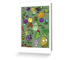 Plant Army Greeting Card
