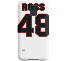 NFL Player Ross Madison fortyeight 48 Samsung Galaxy Case/Skin