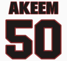 NFL Player Akeem Dent fifty 50 by imsport