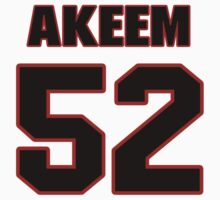 NFL Player Akeem Ayers fiftytwo 52 by imsport