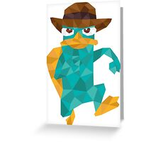 Poly Perry  Greeting Card