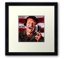 The Magic of Robin Williams  Framed Print