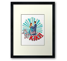 let's have a kiki shirt Framed Print