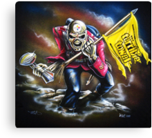 "The ""Steel City"" Trooper Canvas Print"