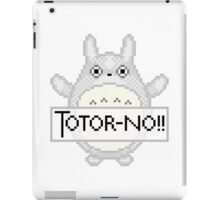 Totor-no!! iPad Case/Skin
