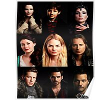 Characters Poster Poster