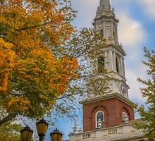 USA. Connecticut. New Haven. First Church of Christ on the Green. by vadim19