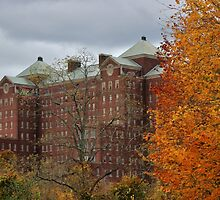 Autumn at Building 93 by Gilda Axelrod