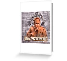 The Architect - George Costanza Greeting Card