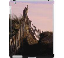 Eroding Fenceline Westward Ho! iPad Case/Skin