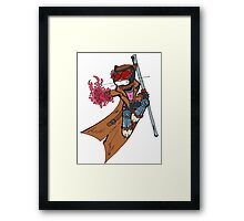 Gambit cat Framed Print