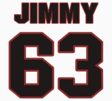 NFL Player Jimmy Saddler-McQueen sixtythree 63 by imsport