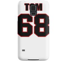 NFL Player Tom Compton sixtyeight 68 Samsung Galaxy Case/Skin