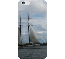 Tall Ships Sailing in the Harbor iPhone Case/Skin