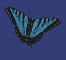 Butterfly - Blue by Alex Sinclair