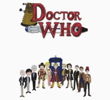 Doctor Who Time Kids Clothes