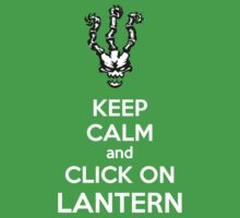 Thresh - League of Legends - Keep Calm and Click On Lantern - White Kids Clothes