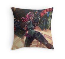 Vi League of Legends Throw Pillow