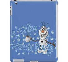 I Like Warm Mugs iPad Case/Skin