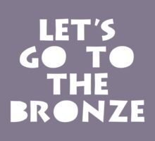 Let's Go To The Bronze Kids Clothes