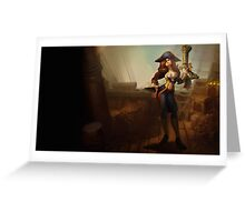 Lol League of Legends Miss Fortune Greeting Card