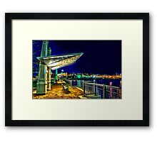 Date Night- Piers Park,East Boston Framed Print