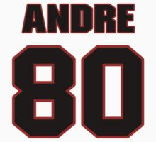 NFL Player Andre Hardy eighty 80 by imsport