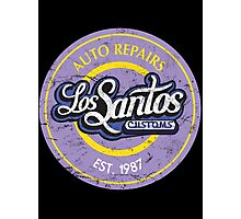 Los Santos Customs Photographic Print