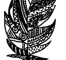 feather Sticker