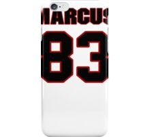 NFL Player Marcus Lucas eightythree 83 iPhone Case/Skin
