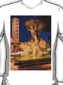 Saint Mary in Cosmedin in Rome T-Shirt
