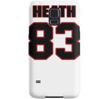 NFL Player Heath Miller eightythree 83 Samsung Galaxy Case/Skin