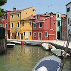 Colors of Burano 4 by Elena Skvortsova