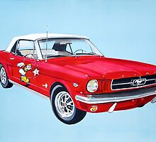 Ford Mustang by itchingink