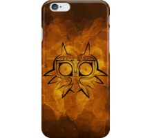 Majora's Mask Lines iPhone Case/Skin