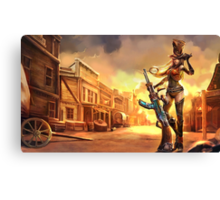 Caitlyn Sheriff Lol League of Legends Canvas Print