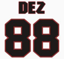 NFL Player Dez Bryant eightyeight 88 T-Shirt