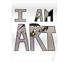 I AM ART - Hiccup&Toothless Poster