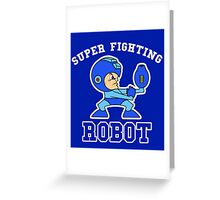 Super Fighting Robot Greeting Card