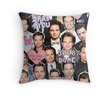 Sebastian Stan BABE Throw Pillow