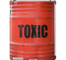 Toxic Waste Barrel iPad Case/Skin