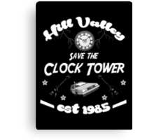 Save the Clock Tower Canvas Print