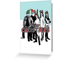 Merry Christmas Card from The Scooby Gang! Greeting Card