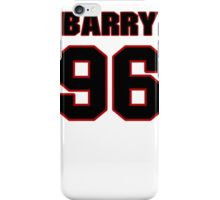 NFL Player Barry Cofield ninetysix 96 iPhone Case/Skin