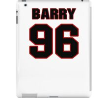 NFL Player Barry Cofield ninetysix 96 iPad Case/Skin