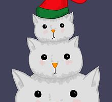 Snow Cats by SamiOlive