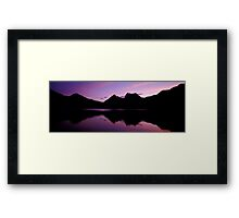 Dove Lake - Cradle Mountain - Tasmania Framed Print